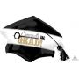 Graduation SuperShape Key to Success Cap Congrats Grad! Shaped Balloon 79cm x 56cm