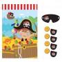 Pirate's Treasure Little Pirate Party Game