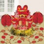 Chinese New Year Foil Table Decorating Kit Pack of 23