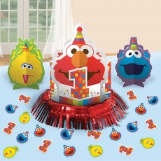 Elmo Turns One Table Decorating Kit