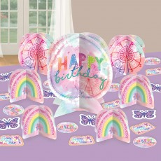 Girl-Chella Party Decorations - Decorating Kit Table