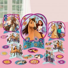 Spirit Riding Free Party Decorations - Decorating Kit Table