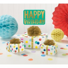 Dots Party Decorations - Decorating Kit Happy Dots Table