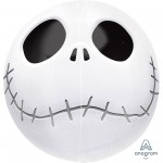 Orbz XL Halloween Jack Skellington Shaped Balloon 38cm x 40cm