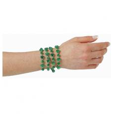 St Patrick's day Shamrock Bracelet Jewellery Pack of 4