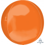 Orange Shaped Balloon 38cm x 40cm