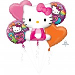 Hello Kitty Bouquet Foil Balloons Pack of 5