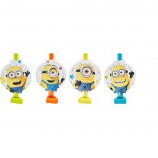 Minions Despicable Me Blowouts Pack of 8