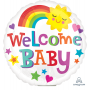 Baby Shower - General Bright & Bold Welcome Baby Foil Balloon 22cm