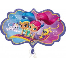 Shimmer & Shine SuperShape Shaped Balloon 68cm x 40cm