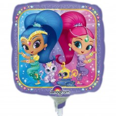 Square Shimmer & Shine Foil Balloon 22cm