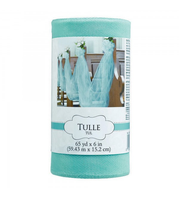 Blue Party Decorations - Tulle Spool