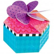 Mad Tea Party Supplies - Favour Boxes