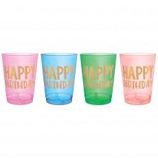 Dots Party Supplies - Plastic Cups Happy Dots Tumblers