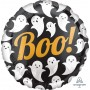 Round Halloween Standard HX Ghosts Boo! Foil Balloon 45cm