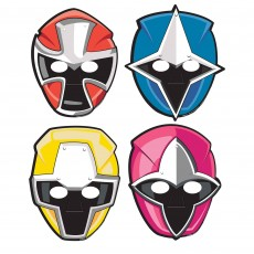 Power Rangers Party Supplies - Party Masks Ninja Steel