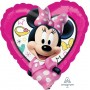 Heart Minnie Mouse Happy Helpers Standard HX Shaped Balloon 45cm