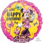 Minnie Mouse Happy Helpers Jumbo Sing-A-Time Singing Balloon