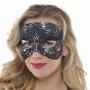 Black Lace Mask Head Accessory