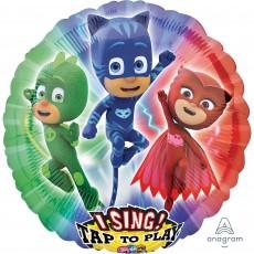 Round PJ Masks Sing-A-Tune Singing Balloon
