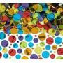 Multi Coloured Dots Confetti 70g