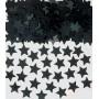 Black Mini Star Confetti
