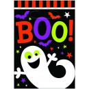 Halloween Boo! Favour Bags 23cm x 16cm Pack of 12
