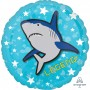Round Epic Standard HX Shark Legend! Foil Balloon 45cm