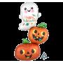 Halloween Party Supplies - Shaped Balloons - Ghost & Pumpkins Stacker