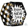 Anglez UltraShape Happy New Year! Shaped Balloon 40cm x 40cm
