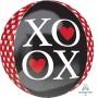 Orbz XL Love Hearts XOXO Shaped Balloon
