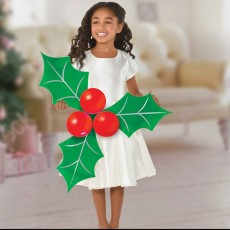 Christmas Holly & Berries Latex Balloons & Photo Props Decorating Kits Pack of 3