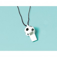 Soccer Party Supplies - Favours Goal Getter Whistles