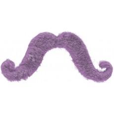 Purple Party Supplies - Moustache