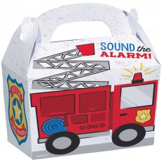 Firefighter Party Supplies - Favour Boxes First Responders Treat