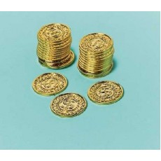 Gold Coins Favours Pack of 144