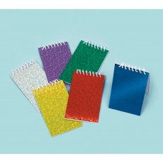 Favours Party Supplies - Prismatic Note Pads