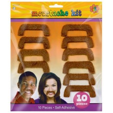 Feeling Groovy & 60's Party Supplies - Moustaches