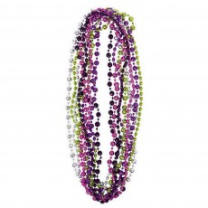 Disco & 70's Disco Fever Party Beads Jewellery Pack of 10