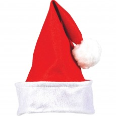 Christmas Party Supplies - Santa Hat & Folded Cuff
