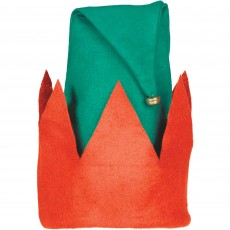 Christmas Party Supplies - Elf Hat & Bell 38cm x 30cm