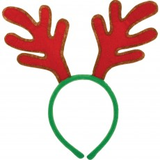 Christmas Antlers Headband Head Accessory 25cm x 29cm