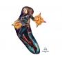 Captain Marvel SuperShape Shaped Balloon 68cm x 93cm