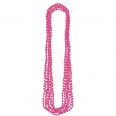 Pink Metallic Necklace Jewellery 76.2cm Pack of 8