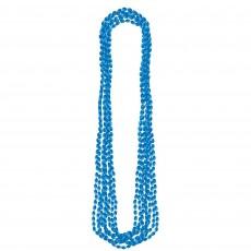 Blue Metallic Necklace Jewellery 76.2cm Pack of 8