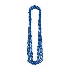 Navy Blue Metallic Necklace Jewellery 76.2cm Pack of 8