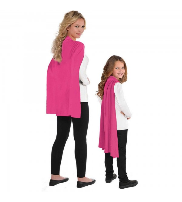 Pink Cape Costume Accessory One Size Fits Most