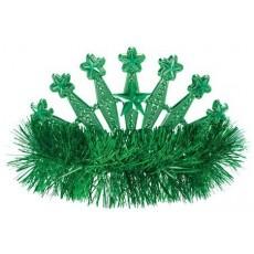 Green Tiara 10cm x 12cm