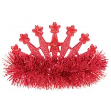 Red Tiara 10.1cm x 12.7cm
