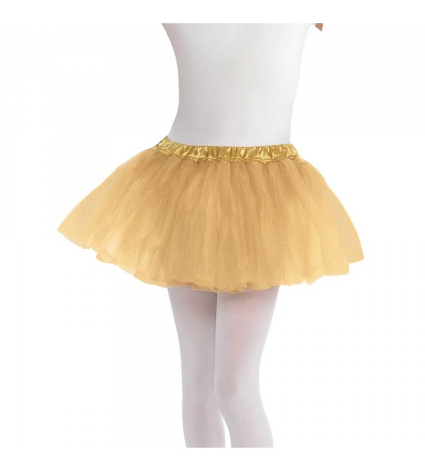 Gold Tutu Child Costume One Size Fits Most